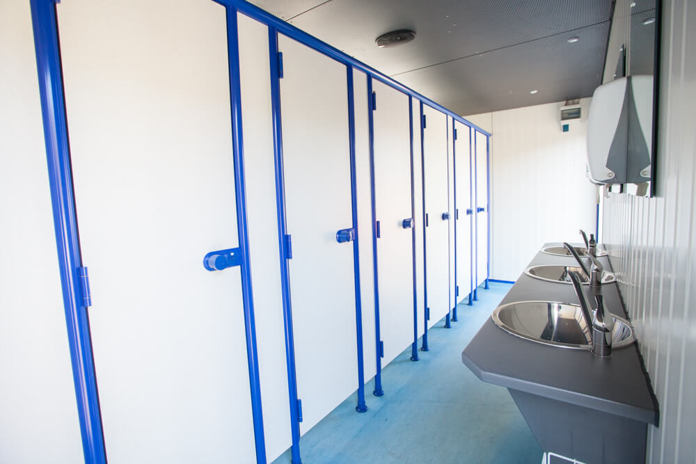 Toilettencontainer in versch. Ausführungen