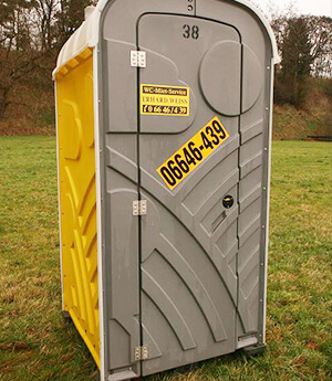 Mobile Toiletten