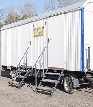 Mobile Toilettenwagen zum mieten