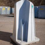 Mobiler Urinalstand