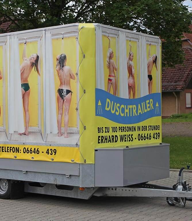 mobile Duschen