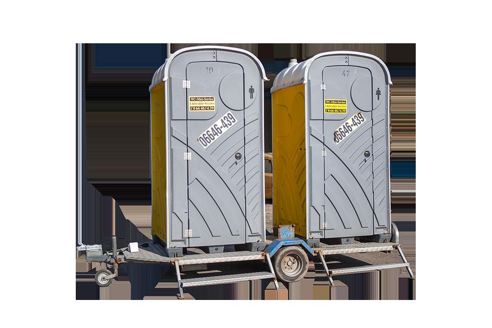 mieten Sie ihre mobilen toiletten.