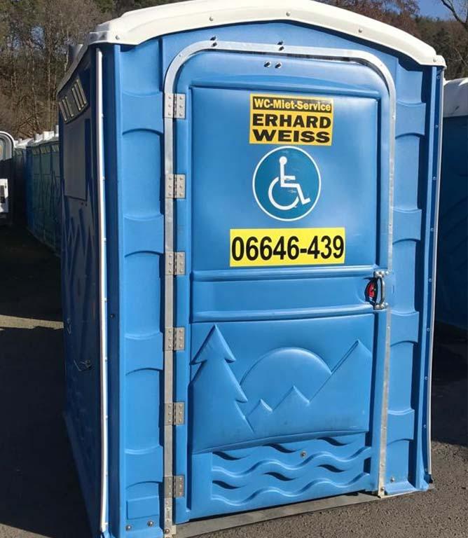 Toilettenkabinen behindertengerecht