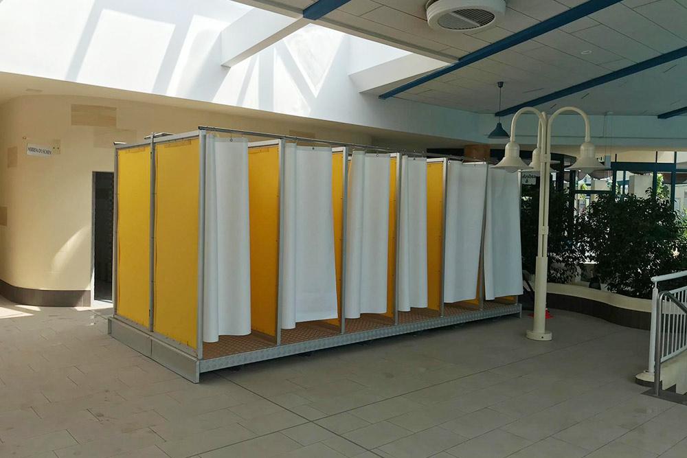 Mobile Duschen für ihr Event