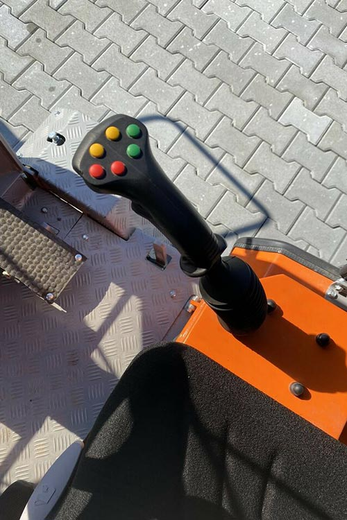 Pflasterverlegemaschine