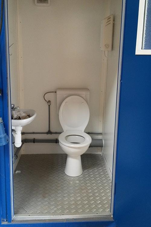 Vermietung von mobilen Toiletten